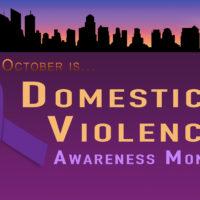 Domestic Violence Awareness Prayer Vigil