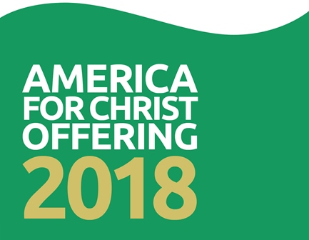 America for Christ Offering 2018