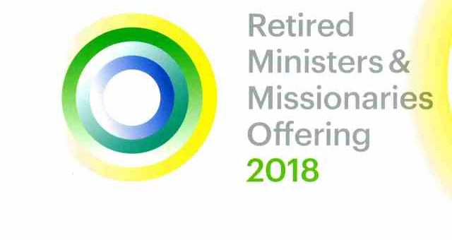 Retired Ministers and Missionaries Offering 2018